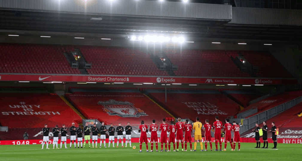 دقيقة حداد في مباراة ليفربول وليستر سيتي على الحارس الراحل راي كيليمنس