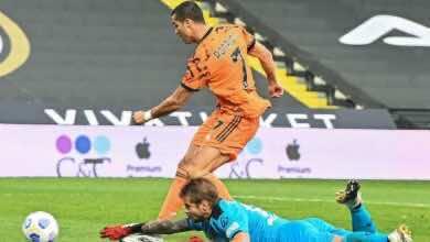 رونالدز - مباراة يوفنتوس وسبيزيا في الدوري الإيطالي (صور:AFP)
