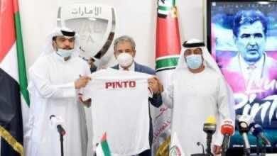 الاتحاد الإماراتي لكرة القدم يفسخ تعاقده مع مدرب المنتخب الكولومبي لويس بينتو