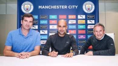 مانشستر سيتي يحافظ على بيب جوارديولا بتوقيع عقد جديد