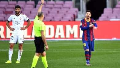 لجنة الاستئناف ترفض طعن برشلونة تجاه ميسي