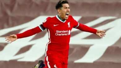 فيرمينو يقود ليفربول لهزيمة توتنهام في الدوري الانجليزي