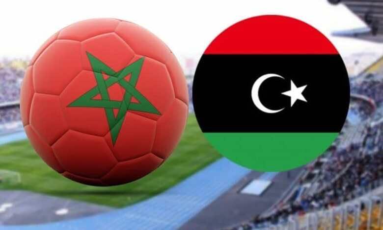 مباراة المغرب وليبيا فى بطولة افريقيا اقل من 20 عاما (صور:Google)