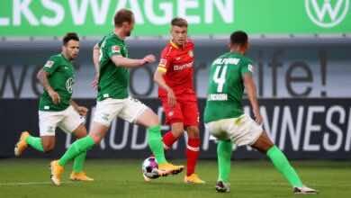 باير ليفركوزن الألماني يعلن إصابة لاعبه سينجرافن بكورونا