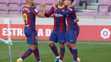 برشلونة يؤكد حاجة كوتينيو لعملية بعد إصابته أمس أمام إيبار