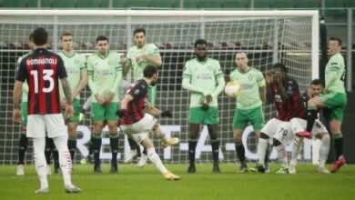 اهداف مباراة ميلان وسلتيك فى الدوري الاوروبي (صور:AFP)