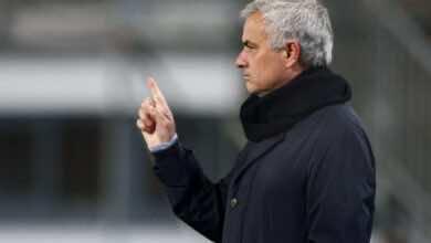 مورينيو ينتقد أداء توتنهام رغم التأهل إلى الدور الثاني بالدوري الأوروبي