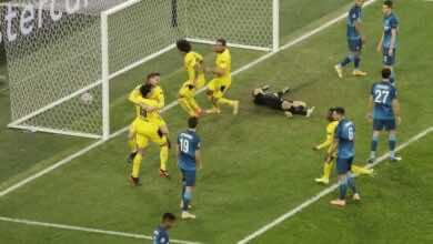 اهداف مباراة بوروسيا دورتموند وزينيت فى دوري ابطال اوروبا (صور:AFP)