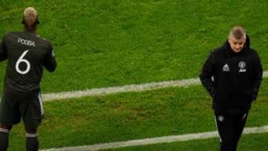 يوفنتوس يداعب بوجبا بعد خروج مانشستر يونايتد من دوري أبطال أوروبا