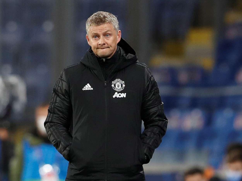 حسرة سولشاير بعد الخروج من دوري أبطال أوروبا - صور Reu