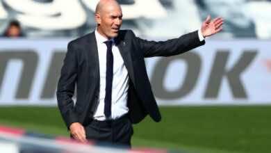 قبل قمة مدريد، زيدان يقول أتليتيكو من أبرز المرشحين للقب الدوري
