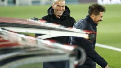 زيدان يؤكد أن ريال مدريد زاد قوة بعد الانتقادات الموجهة له ولفريقه
