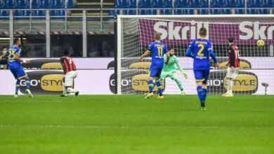 اهداف ميلان وبارما في الدوري الايطالي (صور:AFP)