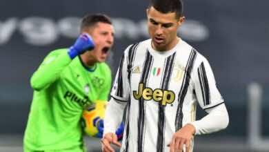 رونالدو يُضيع ضربة جزاء فى مباراة اتلانتا بالدوري الايطالي (صور:AFP)