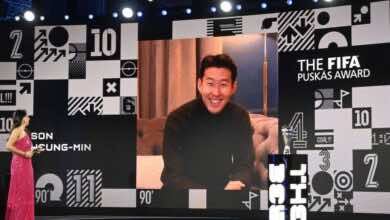 سون هيونج مين يفوز بجائزة بوشكاش لأفضل هدف