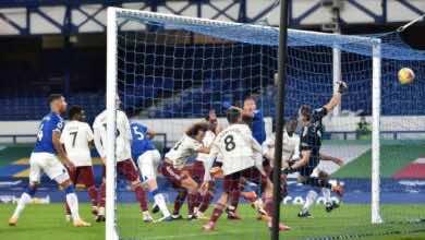 فيديو اهداف ارسنال وايفرتون فى الدوري الانجليزي (صور:AFP)