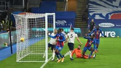 اهداف مباراة توتنهام وكريستال بالاس فى الدوري الانجليزي (صور:AFP)