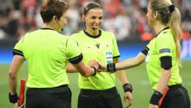 ستيفاني فرابارت تصبح أول سيدة تحكم مباراة في دوري ابطال اوروبا للرجال