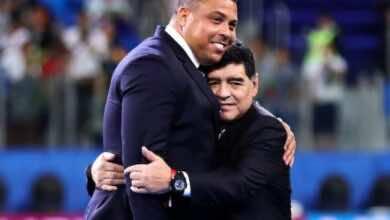الظاهرة رونالدو يكشف عن آخر حديث جمعه بالراحل دييجو أرماندو مارادونا