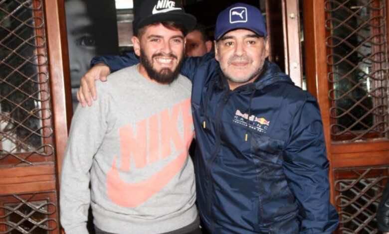 وفاة مارادونا   نجل الاسطورة الراحل مصدوم من وفاة والده حتى الآن