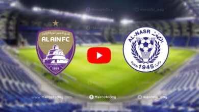 شاهد فيديو اهداف مباراة العين والنصر في الدوري الاماراتي