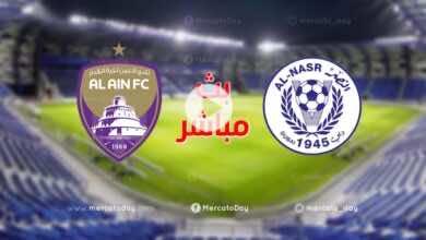 بث مباشر | مشاهدة مباراة العين والنصر في الدوري الاماراتي