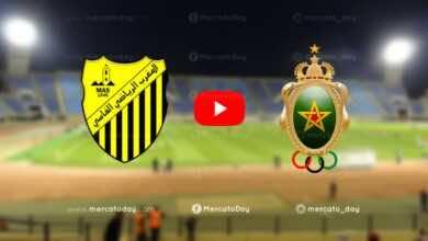 بث مباشر   مشاهدة مباراة الجيش الملكي والمغرب الفاسي في الدوري المغربي