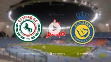 بث مباشر | مشاهدة مباراة النصر والاتفاق في الدوري السعودي