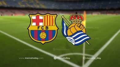 عاجل | تشكيلة برشلونة الأساسية امام ريال سوسيداد في الدوري الاسباني