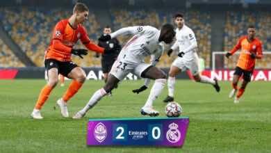 اهداف مباراة ريال مدريد وشاختار فى دوري الابطال (صور:AFP)