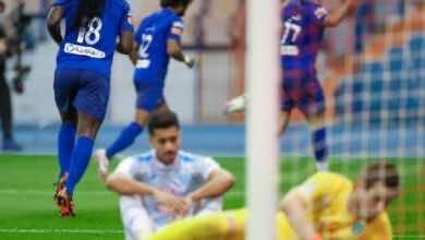 اهداف مباراة الهلال والفتح فى الدوري السعودي (صور:twitter)