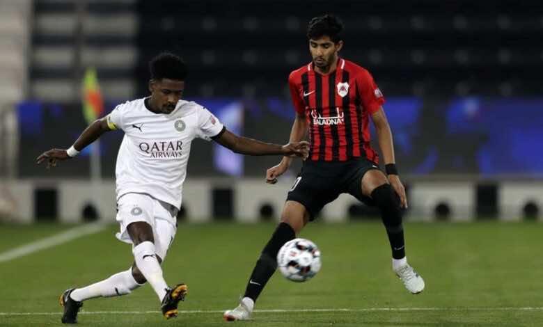 مباراة السد والريان فى دوري نجوم قطر (صور:twitter)