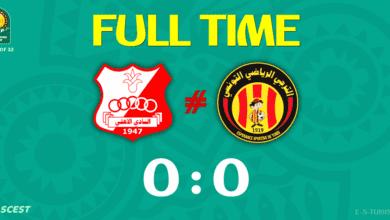 ملخص مباراة التعادل السلبي بين الترجي التونسي واهلي بني غازي الليبي فى دوري ابطال افريقيا (صور:twitter)