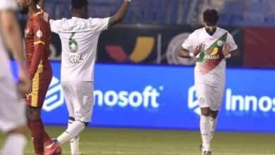شراحيلي يعرب عن سعادته بعد تعادل ضمك مع النصر بالدوري السعودي