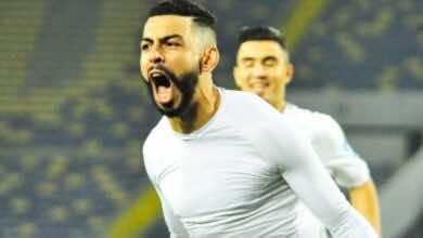 اهداف مباراة الرجاء ومولودية وجدة فى الدوري المغربي (صور:twitter)