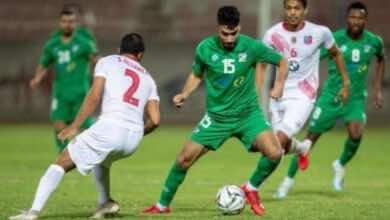 مباراة العربي والكويت فى الدوري الكويتي (صور:twitter)