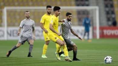 مباراة السد وقطر فى دوري نجوم قطر (صور:twitter)