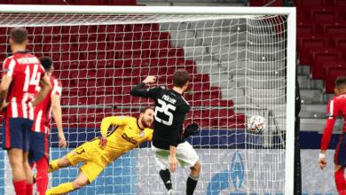 توماس مولر يسجل هدف تعادل بايرن ميونخ امام أتلتيكو مدريد في دوري ابطال اوروبا