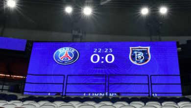 رسميًا | يويفا يقرر استكمال مباراة باريس وإسطنبول باشاك شهير مساء الاربعاء