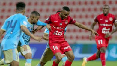 شباب الاهلي دبي يتعادل في الدوري الاماراتي - الخليج العربي - مع الظفرة من دون اهداف في الجولة التاسعة من موسم 2021/2020