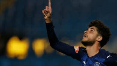 أحمد الشيخ يسجل هدف تقدم بيراميدز أمام الزمالك في الدوري المصري موسم 2021/2020