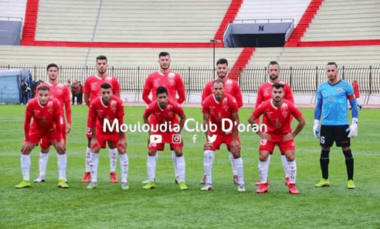 مولودية وهران في الدوري الجزائري موسم 2021/2020