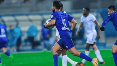 صالح الشهري يسجل هدف تعادل الهلال امام الشباب في الدوري السعودي موسم 2021/2020