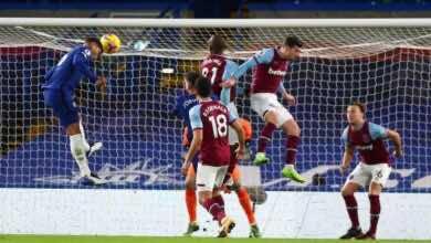 اهداف تشيلسي ووست هام في الدوري الانجليزي (صور:AFP)