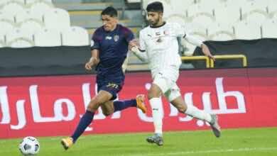 ديربي ابو ظبي بين الجزيرة والوحدة في دوري الخليج العربي الاماراتي