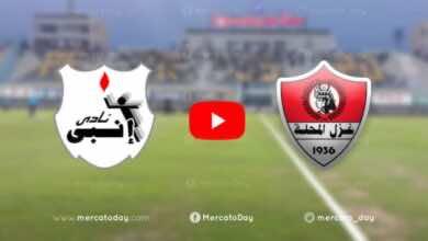 فيديو يوتيوب | شاهد اهداف مباراة غزل المحلة وانبي في الدوري المصري