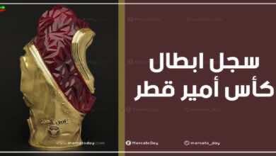 سجل البطولات   الفائزون ببطولة كأس أمير قطر عبر التاريخ