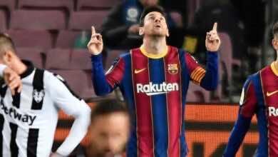 أخبار برشلونة| ميسي على بعد هدف من رقم بيليه القياسي