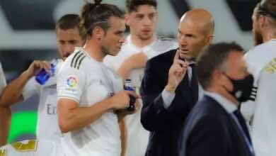 بيل يفكر في ترك توتنهام والعودة إلى ريال مدريد بسبب كين وسون!