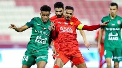 شاهد فيديو اهداف مباراة شباب الاهلي دبي والفجيرة في الدوري الاماراتي